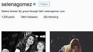 Selena Gomez regina di Instagram raggiunti 100 milioni di follower