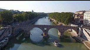 La grande bellezza vista dall'alto le meraviglie di Roma dal drone