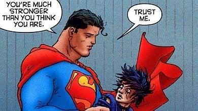 Ispira il cinema e non teme internet i superpoteri dell'immortale fumetto