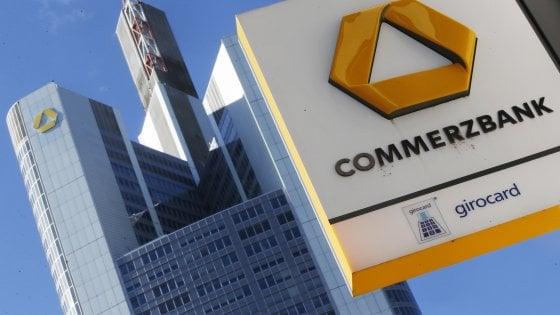 Commerzbank annuncia il taglio di 9.600 posti di lavoro