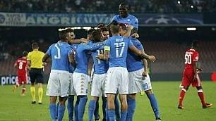 Juventus e Napoli, due poker per Champions e scudetto
