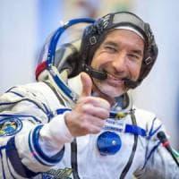 """Luca Parmitano: """"Colonia su Marte, pronto al viaggio purché non sia di sola andata"""""""