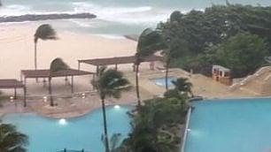 L'uragano dentro il resort