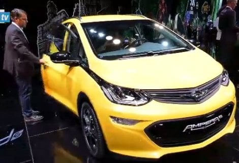 Opel Ampera-e: l'elettrica da oltre 500 km di autonomia