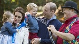 Canada, festa per George e Charlotte: la gioia dei principini
