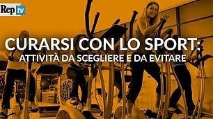 Curarsi con lo sport   come scegliere l'attività giusta