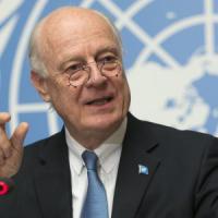 """De Mistura: """"Siria, bombe su scuole e ospedali, i civili intrappolati nella città"""""""