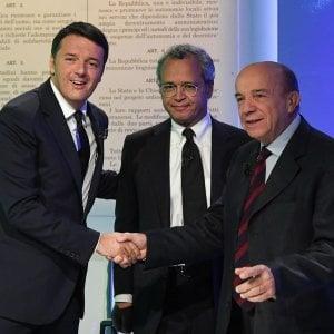 """Duello Renzi-Zagrebelsky su referendum. Il costituzionalista: """"Svolta oligarchica"""". Il premier: """"Offensivo verso gli italiani"""""""