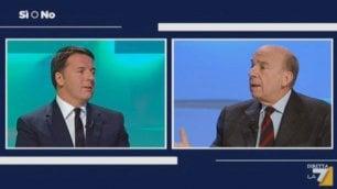 """Duello tv Renzi-Zagrebelsky su """"gufi"""" e """"parrucconi""""  video"""