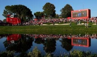 Golf, Ryder Cup: l'Europa parte male e poi recupera, Usa in vantaggio 5-3