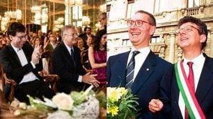 Milano, finalmente sposo il paladino delle nozze gay: 24 anni fa celebrò le prime in piazza