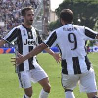 Empoli-Juventus 0-3, Dybala e doppio Higuain firmano il tris