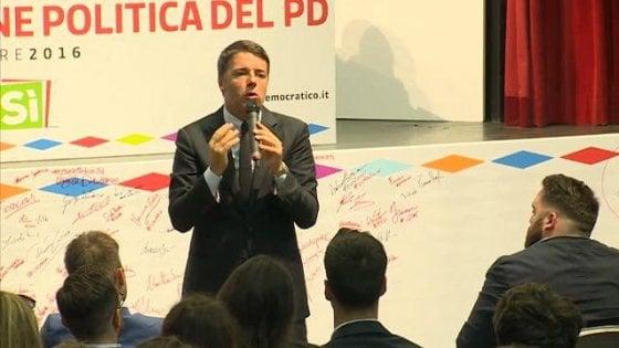 """Italicum, Renzi: """"Non ci sarà una proposta del Pd per cambiarlo, decide il Parlamento"""". Il Ponte? """"Non è una priorità"""""""