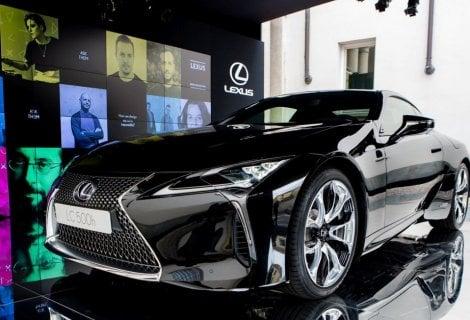 Sinergia tra innovazione e design: ecco la Lexus LC 500h