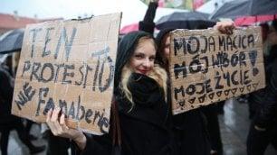 Le donne in nero di Varsavia