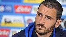 Nazionale, commozione Bonucci: Passaggio sbagliato? Mio figlio mi ha fatto capire tante cose