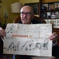 Ecco le vignette del liceale Umberto Eco