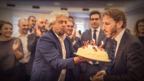 """Grillo a Roma manda il direttorio in soffitta: """"D'ora in poi rapporti diretti con i gruppi parlamentari"""""""