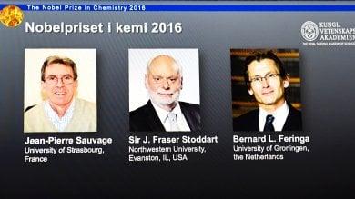 Chimica: Nobel 2016 per le nanomacchine a Sauvage, Stoddart e Feringa