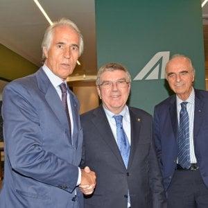 """Olimpiadi 2024, il Coni porta dossier al Cio: """"C'è anche Roma"""""""