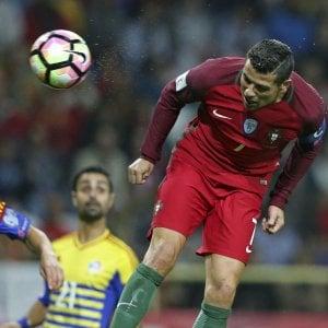 Qualificazioni Mondiali: Ronaldo cala il poker, vincono tutte le big