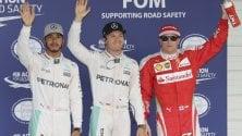 F1 Giappone: Rosberg in pole. Prima fila Mercedes. Bene le Ferrari: terzo e quarto tempo