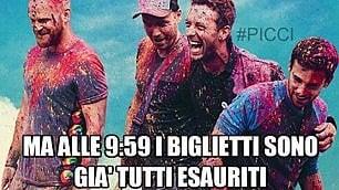 Coldplay a Milano, il biglietti-gate sui social: ridi che ti passa