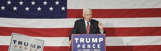 Elezioni Usa, anche Pence contro Trump: Parole sulle donne intollerabili, non posso difenderlo
