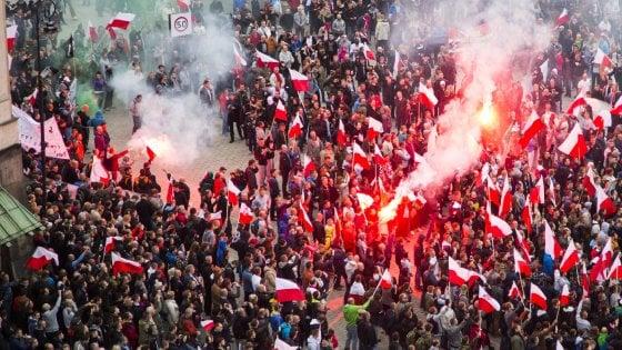 """Kaczynski, La sfida dell'Est: """"Rivoluzione contro l'Europa"""""""