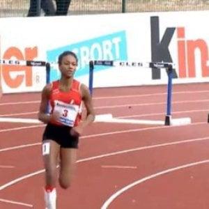 Atletica, Larissa Iapichino, figlia di Fiona May, è campione d'Italia nei 300 hs