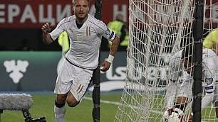 Macedonia-Italia 2-3: azzurri deludenti, li salva Immobile