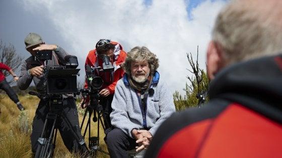 """Reinhold Messner diventa regista: """"La verità è più forte di Hollywood"""""""