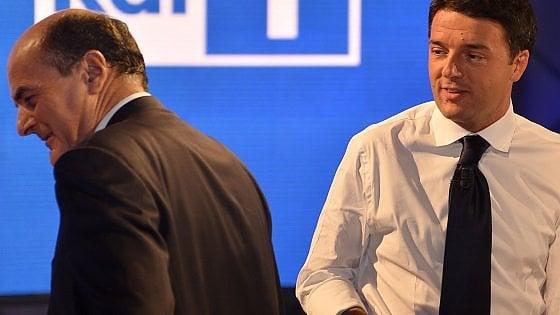 """Pd tra referendum e riforme. Scissione, minoranza frena. Bersani: """"Io via solo con l'esercito"""""""