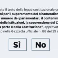 Riforma costituzionale: cosa succede se vince il Sì o il No