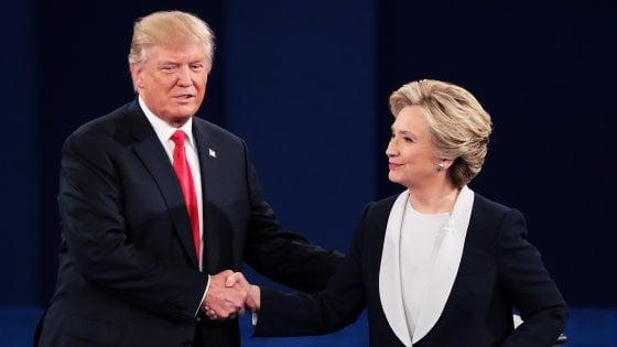 """Elezioni Usa, Clinton: """"Io ultima cosa tra voi e l'Apocalisse"""""""