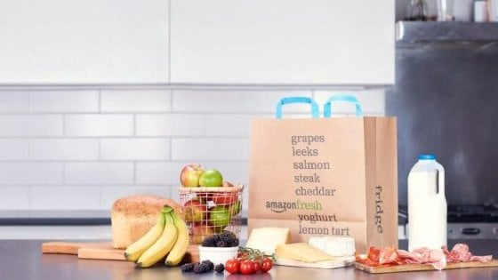 Negozi di verdura e carne, Amazon alla conquista del commercio fisico
