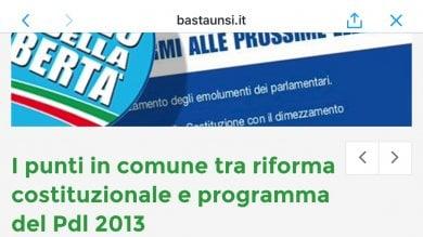 Referendum, il comitato Pd usa Berlusconi per promuovere il Sì. Esplode la polemica