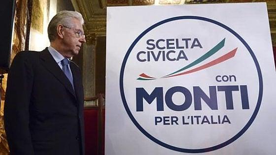 """Mario Monti perde il marchio """"Scelta Civica"""". E a Montecitorio rinasce con Verdini"""