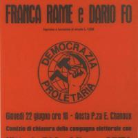Dario Fo e la passione politica: dalla