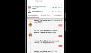 Basket, la Serie A in tempo reale su Repubblica.it e App