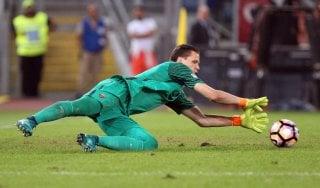 """Roma, Szczesny: ''A Napoli per accorciare sulla Juve. Niente Milik? Mi dispiace"""""""