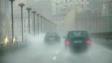 Il maltempo colpisce la Liguria e la Sardegna, miglioramenti da domenica