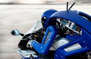 Primi giri di pista per la Yamaha senza pilota