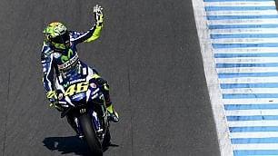 MotoGp, Giappone: Rossi in pole davanti a Marquez e Lorenzo