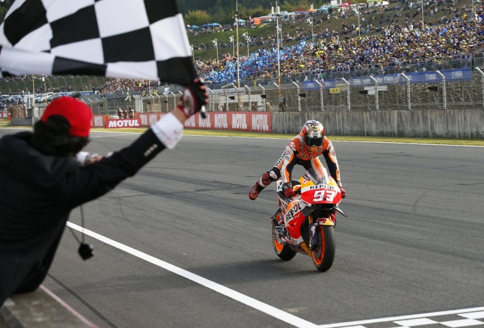 MotoGp, Marquez trionfa al Gp del Giappone - Repubblica.it
