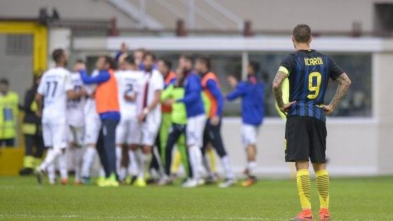 Inter, Icardi e Handanovic una giornata nera: è ko col Cagliari