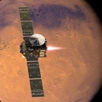 Exomars, il lander Schiaparelli si è separato dalla sonda madre e vola verso Marte