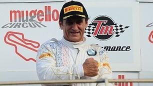 Zanardi-leggenda: torna a vincere in auto, primo al debutto nel campionato GT