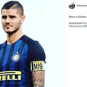 """Inter,  Icardi resta capitano: in arrivo una multa. Ritirata la biografia: """"Toglierò pagine offensive"""""""