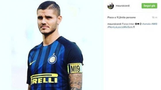 Inter, la Digos a casa Icardi: ritirate le registrazioni video